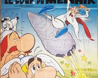 """Movie poster """"Astérix et le coup du menhir"""" -Original-"""