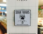 Kylo Ren Goes To College A Star Wars x Descendents Mash Up Enamel Pin Lapel