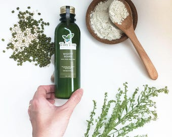 100% Natural Mung Bean & Grain Facial and Body Cleansing Powder, Scrub and Mask