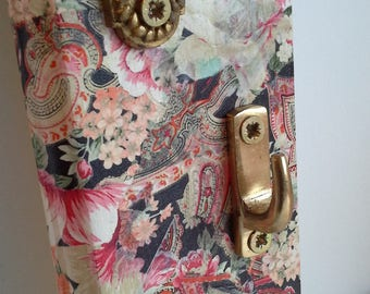 Paisley and floral hooks