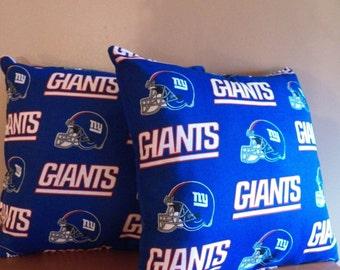 NFL New York Giants Decorative Thorw Pillow Set Of 2