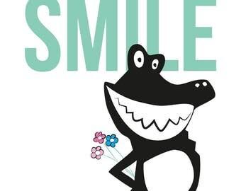 Poster baby/kids - You make me smile