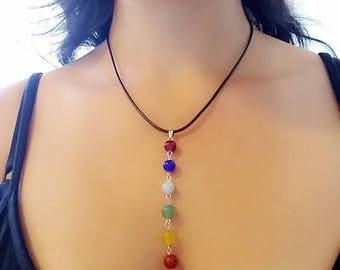 7 Chakra Beads Necklace