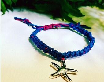 Simple and cute hemp bracelet