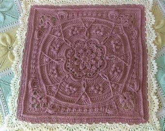 Crocheted Pondoland Baby Receiving Blanket