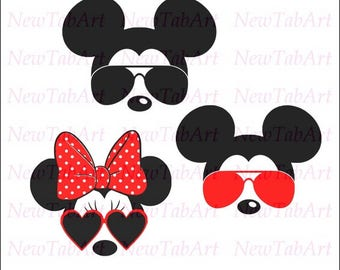 Minnie Mouse svg minnie mouse svg sunglasses minnie mouse sunglasses svg disney svg files for Cricut Silhouette Vector File svg png eps dxf