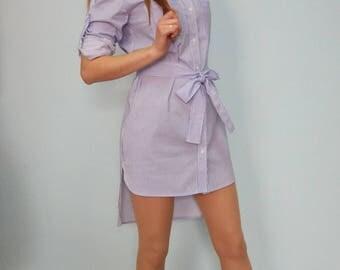 Dress, striped dress, dress shirt, dress t-shirt, women shirt, new collection