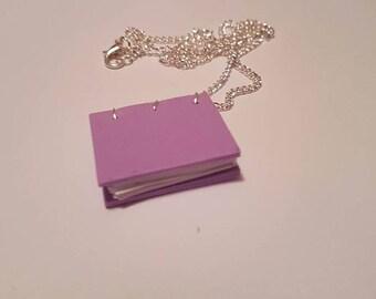 Mini Notebook Necklace / Keyring