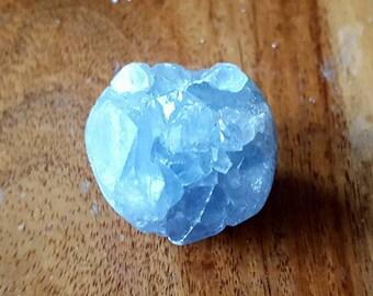 Heavenly Blue Celestite Cute Sphere Cluster  - Angelic - Healing Crystal
