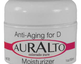 Anti Aging for Day Moisturizer  spf 20