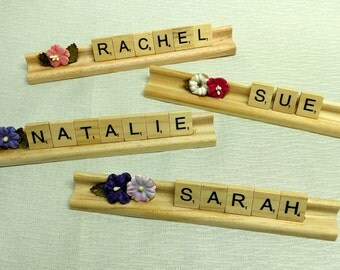 Personalized Scrabble Tile Nameplate