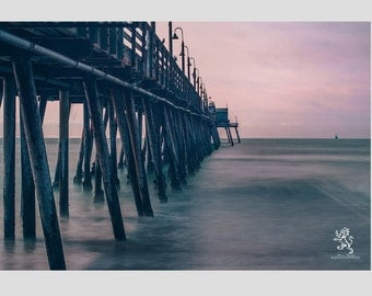 Ocean and Pier Scenery