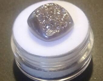 Platinum Drusy Quartz