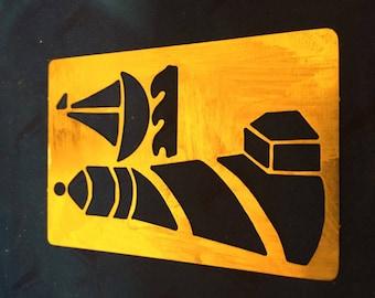 Lasting Impressions BRASS stencil