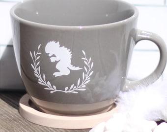 Beautiful Chupacabra - Elegant Cryptozoology Coffee Mug