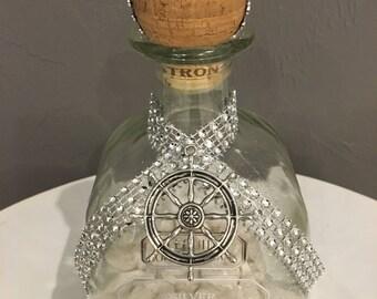 Patron Bottle Home Decor Accent