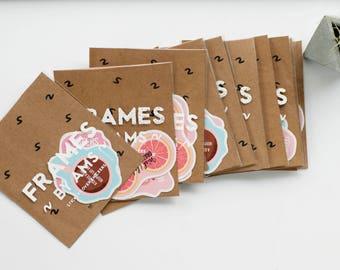 4 Sticker Pack