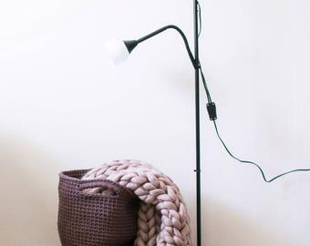 Crochet Storage Basket Knitted Yarn/ Вязаная корзина для хранения из трикотажной пряжи