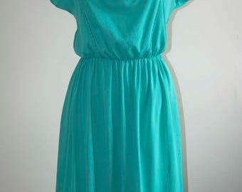 Green Vintage Summer Dress