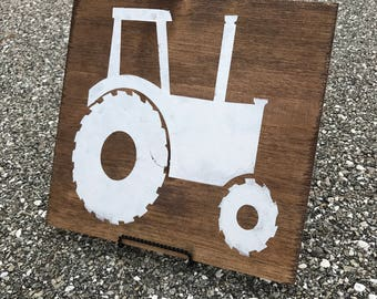rustic nursery, rustic kids bedroom, boy bedroom decor,farmhouse decor,woodland nursery,rustic tractor