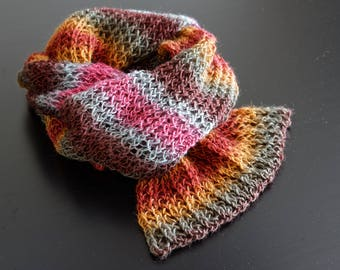 Beautiful, colorful, soft scarf