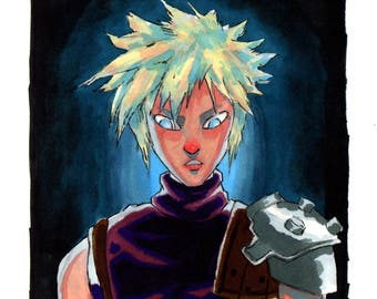 Cloud Strife Sketch