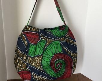 Reusable Shopper Bag, Tote Bag, Grocery Bag, Diaper Bag, Roomy Carry-on Tote, Overnight Bag