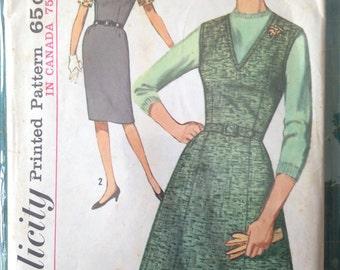 Vintage Simplicity 5209 dress size 40
