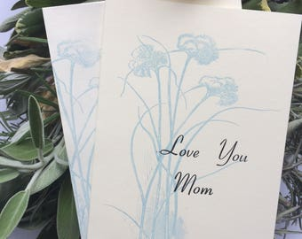 Birthday Card for Mom   Mother's Day Card   Gift for Mom   Letterpress stationery   Letterpress Card