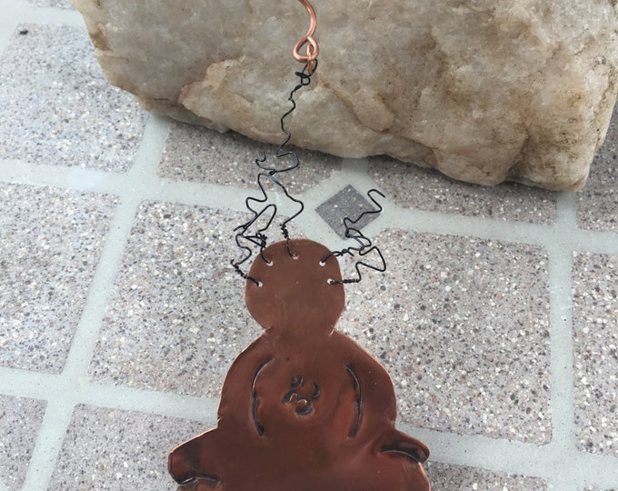 Copper Necklace * Adjustable Choker Necklace *Yoga Necklace * Handcut Yoga Necklace * Choker