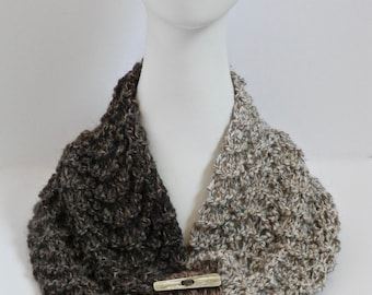Alpaca and Wool Neck Warmer Necklace