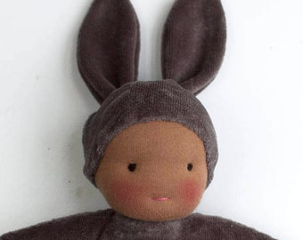 Bunny Baby No. 3 : Handmade Waldorf Doll