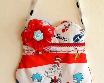 Cat in the Hat Purse, Dr Seuss purse
