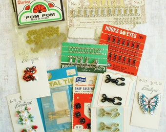 Big Lot of Vintage Sewing Notions