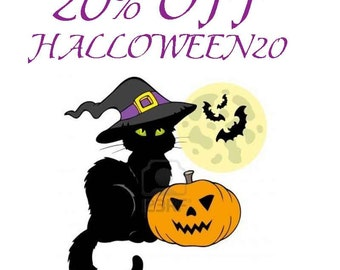 Halloween Soap Sale - Halloween Candle Sale - Store Wide Sale - 20 Percent Off