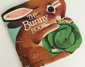 70s 80s The Bunny Book by Richard Scarry - A Golden Shape Book