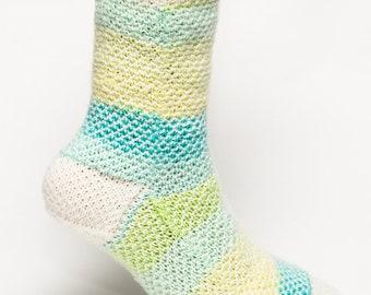 Spring Stripe Socks