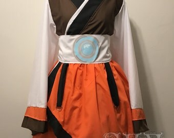 Tracer Kimono Dress