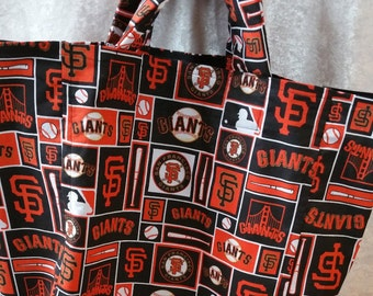 Market Bag - Giants theme