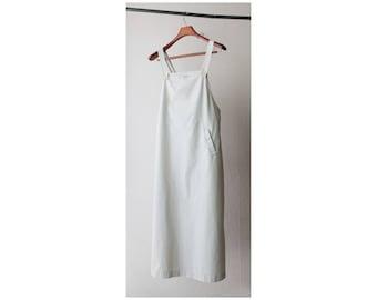 1980s Minimal Overalls Suspenders