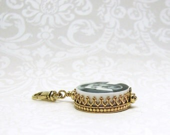 Photo Charm framed in 14K Gold - XSM - FC6rCF