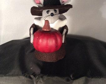 Mr Pilgrim with a Pumpkin!  NEW LOWER PRICE