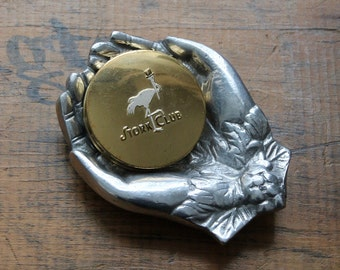 Vintage Stork Club Powder Compact, New York City Night Club Souvenir, Vintage Compacts, Stork Club Collectibles,  Cigongne Compacts