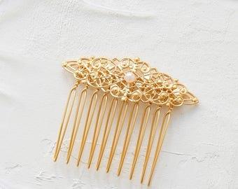 On Sale 20% Off, Eleanor Hair Comb, wedding hair accessory, bridal head piece