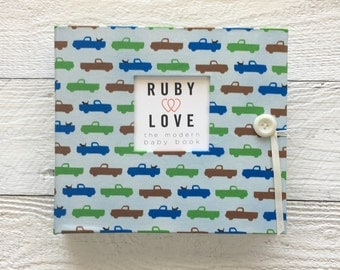 Modern Trucks | BABY BOOK