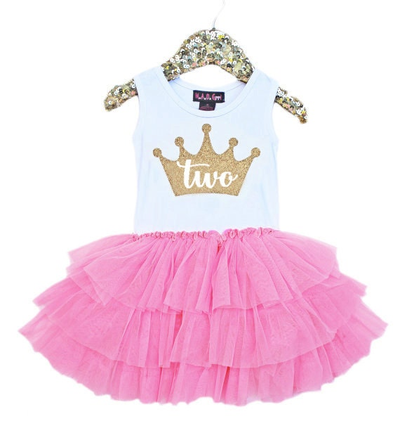 Sale, Second Birthday Outfit, 2nd Birthday Dress, Pink And