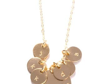 Grammy Necklace in Gold