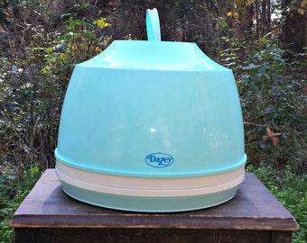 Turquoise Hair Dryer / Dazey Hair Dryer / Dazey Tabletop Hair Dryer / Turquoise Portable Hair Dryer / Dazey Electric Hair Dryer