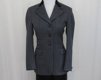 1960's-1970's Pytchiley Phillips & Piper English wool Riding jacket XS