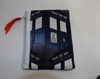 Dr Who  Fabric Coin Purse / Pouch- Handmade